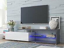 möbelando TV-Lowboard Sideboard Unterschrank HiFi