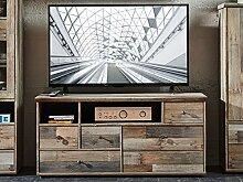 möbelando TV-Lowboard Unterschrank Fernsehschrank