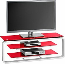 möbelando TV-Rack Unterschrank HiFi Board