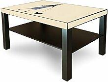 Möbelaufkleber IKEA Lack Tisch Möbelfolie