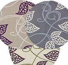Möbelbär Triton Leaf - floral bedruckter