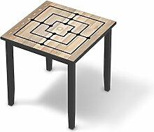 Möbeldeko Jugendzimmer für IKEA Lerhamn Tisch