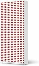 Möbelfolie für IKEA Pax Schrank 236 cm Höhe - 2 Türen   Möbeltattoo Klebefolie Sticker Tapete Möbel renovieren   Wohnen & Dekorieren Esszimmer-Dekoration Wohnaccesoires   Ornament Mono Dots - Ro