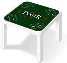 Möbelfolie - Klebefolie Pokertisch