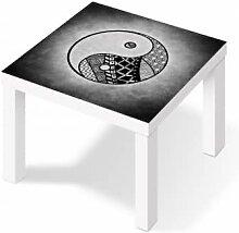 Möbelfolie - Klebefolie Yin und Yang