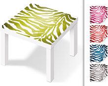 Möbelfolie - Klebefolie Zebramuster