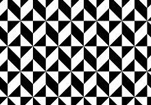 Möbelfolie, Muster 01 (B/H): 100/100 cm schwarz