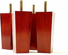 Möbelfüße aus Holz 100mm hoch Ersatz Möbel