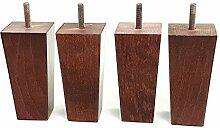 Möbelfüße aus Holz 120mm hoch Ersatz Möbel