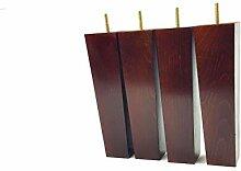Möbelfüße aus Holz 200mm hoch Ersatz Möbel