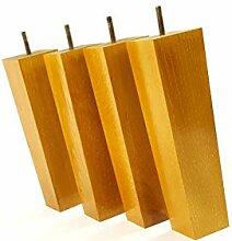 Möbelfüße aus Holz 220mm hoch Ersatz Möbel