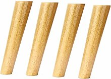Möbelfüße aus Massivholz,Ersatz Konisch