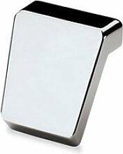 Möbelgriff Milo, Verchromt glanz 16 mm / 40 x 41