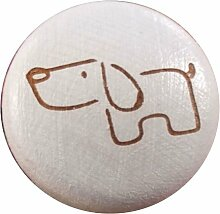 Möbelknauf Hund 15051