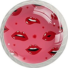 Möbelknöpfe Lippen Hardware