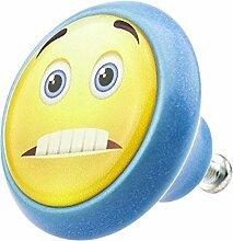 Möbelknopf 05892B Smiley- Möbelknöpfe