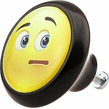 Möbelknopf 05896S Smiley- Möbelknöpfe