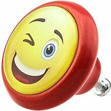 Möbelknopf 05900R Smiley- Möbelknöpfe
