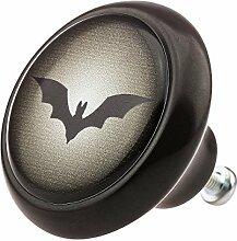 Möbelknopf 05943S Fledermaus Batman-