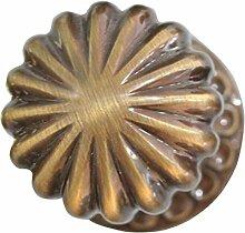 Möbelknopf douro, Leder, Durchmesser 85mm,