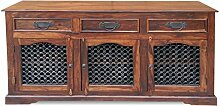 Möbelkultura Sideboard, Holz, braun, 45 x 180 x 90 cm
