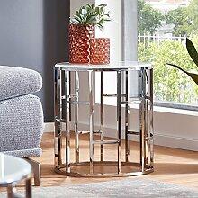 Moebella Designer Glas-Tisch Beistelltisch mit