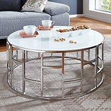 Moebella Designer Glas-Tisch Couchtisch mit