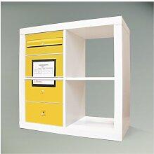 Möbelsticker für IKEA EXPEDIT (Kallax) Regal