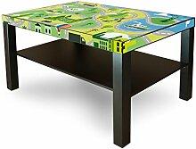 Möbelsticker für Ikea Lack Tisch 90x55cm