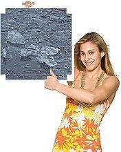 Möbelsticker Wasser Steine1 für Beistelltisch.