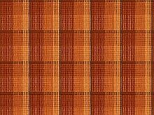 Möbelstoff Davos Check Farbe 123 (braun, rotbraun, rostbraun, ocker) - modernes Chenille-Flachgewebe (gemustert, kariert, Karos) Polsterstoff, Stoff, Bezugsstoff, Eckbank, Couch, Sessel, Hussen, Kissen