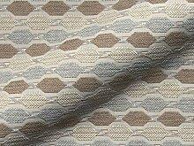 Möbelstoff DRIVA Muster Abstrakt Farbe beige als