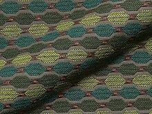 Möbelstoff DRIVA Muster Abstrakt Farbe grün als