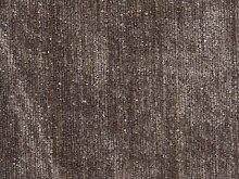 Möbelstoff Edition Farbe 7018 (braun) - modernes Chenille-Flachgewebe (uni), Polsterstoff, Stoff, Bezugsstoff, Eckbank, Couch, Sessel, Hussen
