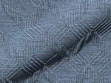 Möbelstoff GUDENA Muster Abstrakt Farbe blau als