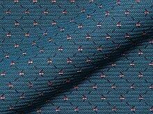 Möbelstoff SIRA Muster Abstrakt Farbe blau als