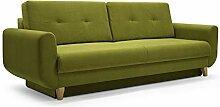 MOEBLO Modernes Sofa Schlafsofa Kippsofa mit