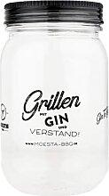 Moesta-BBQ 10644-4er Set Gin-Becher aus Kunststoff