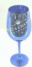 Moet & Chandon 1 Imperial Champagner Glas Blue
