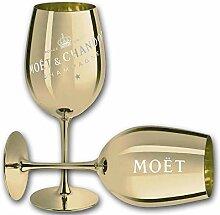 Moet & Chandon Champagne Champagner Glas Gläser