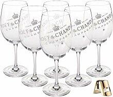 Moët & Chandon Champagner Big Glas (durchsichtig)