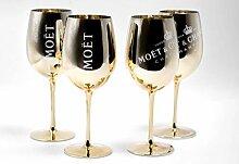 Moet Chandon GLÄSER Gold Ice Imperial Champagner