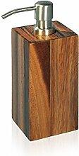 möve Acacia Seifenspender 7 x 7 x 20 cm aus