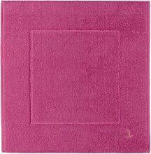 Möve Basic Badteppich 60 x 100 cm, pink