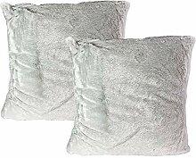 Mojawo 2 Stück Hochwertige Kissenbezüge