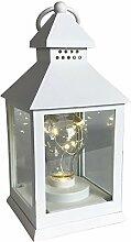 Mojawo Designer Kunststoff LED Laterne Lampe