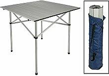 Mojawo Faltbarer Aluminium Campingtisch -