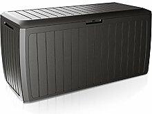 Mojawo Kunststoff Auflagenbox Kissenbox Gartenbox