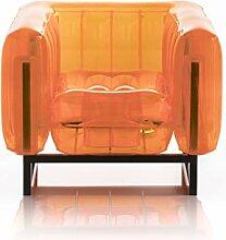 Mojow - Aufblasbarer Sessel mit Metallstruktur -