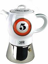 Moka Consorten Espressokocher »Carina biliardo«